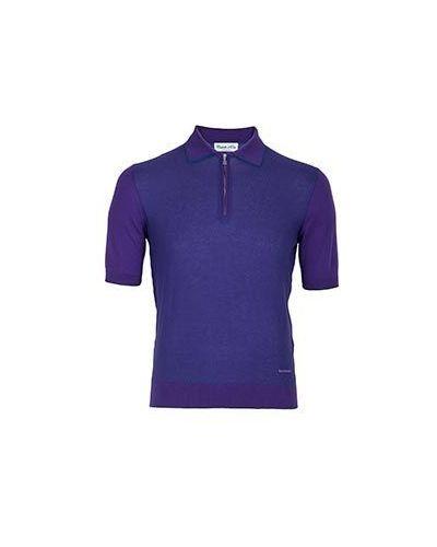 Поло фиолетовый Castello D'oro
