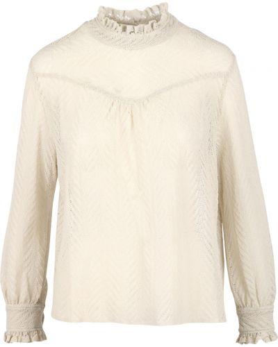 Beżowa bluzka Pomandere