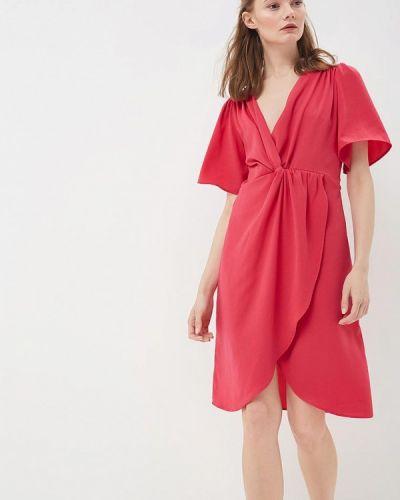 Розовое платье весеннее Sweewe