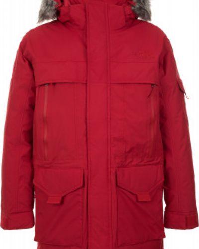 Зимняя куртка длинная утепленная The North Face