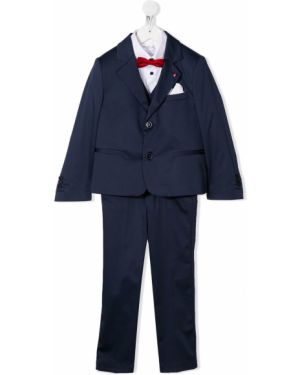 Spodni garnitur kostium niebieski Colorichiari