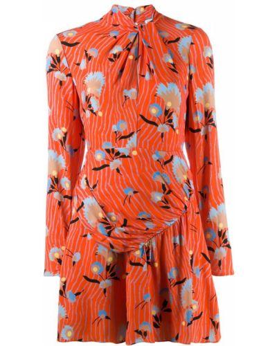 Платье макси с цветочным принтом для невысоких Self-portrait