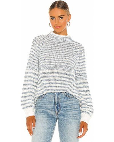 Восточный акриловый белый свитер Saylor