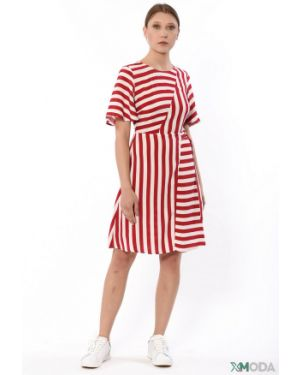 Джинсовое платье из вискозы Liu Jo Jeans