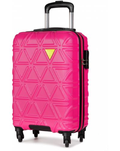 Różowa walizka Puccini
