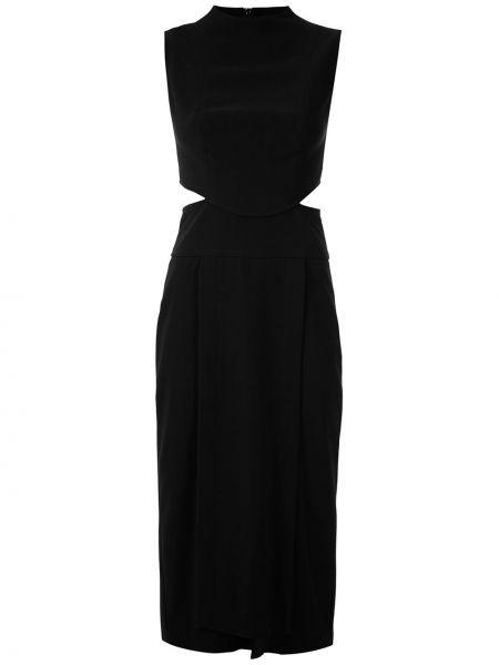 Платье миди с вырезом прямое Framed