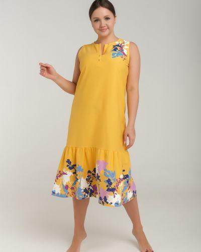 Повседневное прямое домашнее платье одевайте