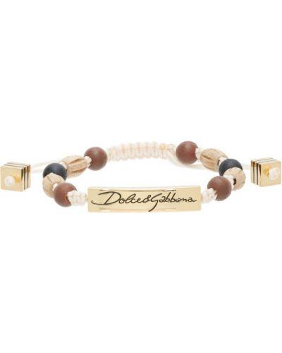 Biała złota bransoletka ze złota Dolce And Gabbana