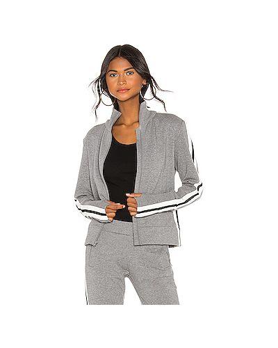 Кофта спортивная с карманами Norma Kamali