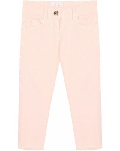 Прямые джинсы с поясом Chloé