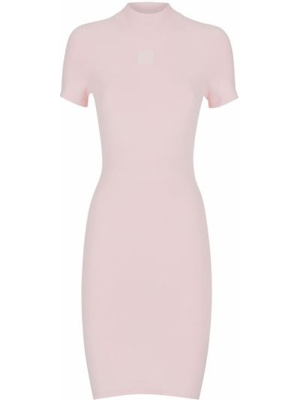 Sukienka mini bawełniana - różowa Alexander Wang