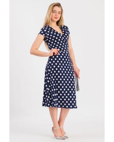 Платье в горошек с V-образным вырезом Lacywear
