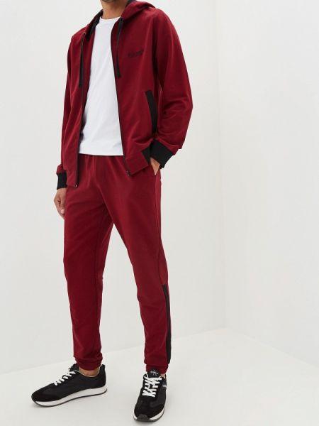 Спортивный костюм красный бордовый Forlife