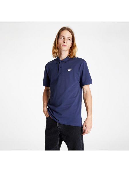 Niebieski koszulka polo Nike