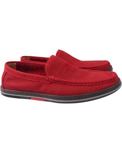 Кожаные туфли - красные Arees Meniwa
