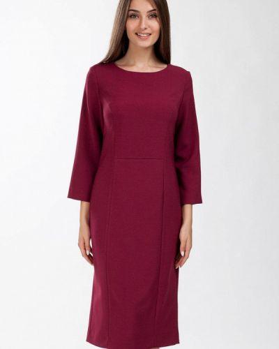 Повседневное платье весеннее красный Femme