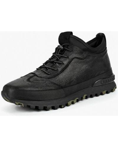 Высокие кроссовки черные Dino Ricci Trend