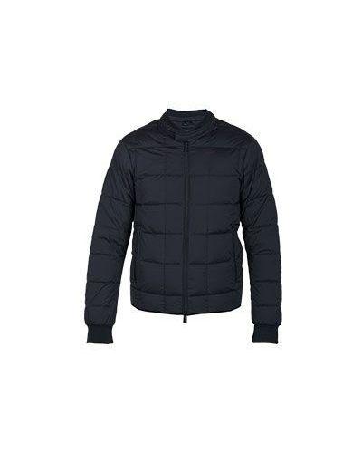 Зимняя куртка демисезонная черная Armani Jeans