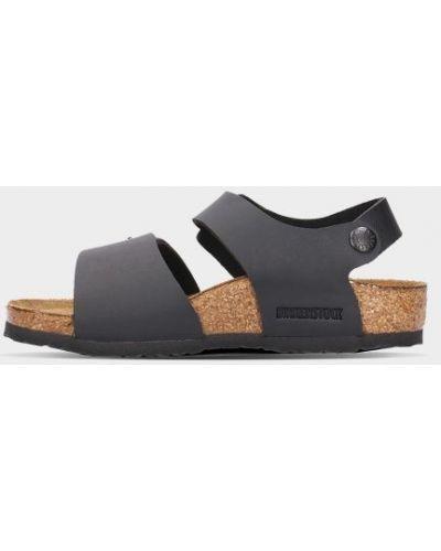 Кожаные сандалии - черные Birkenstock