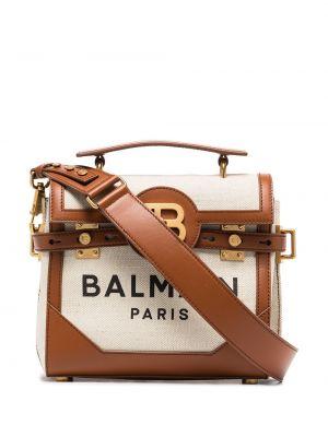 Кожаная сумка Balmain