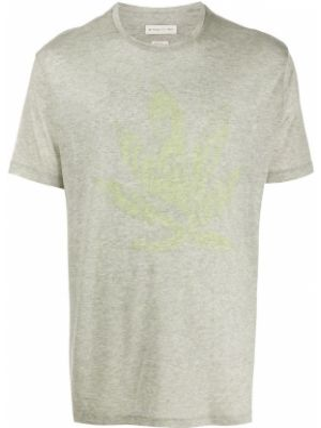 Koszula krótkie z krótkim rękawem prosto z nadrukiem Etro