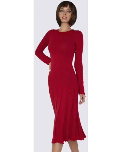 Прямое красное платье Anushka By Anna Pavlova