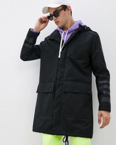 Утепленная куртка - черная Bikkembergs
