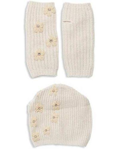 Rękawiczki bez palców wełniane Portolano