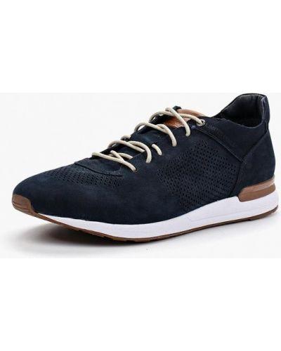 Синие кроссовки из нубука Dino Ricci