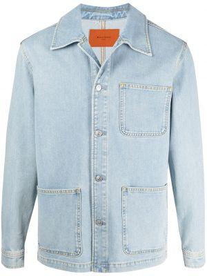 Хлопковая джинсовая куртка - синяя Sandro Paris