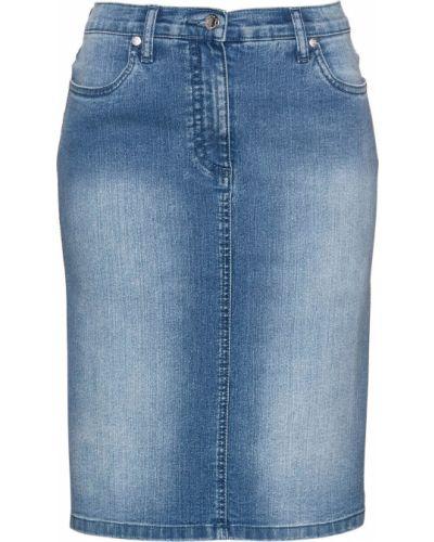 Джинсовая юбка Bonprix