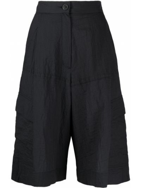 Синие нейлоновые шорты с карманами на молнии Raeburn