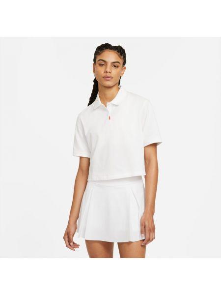 Pomarańczowy t-shirt na co dzień oversize Nike