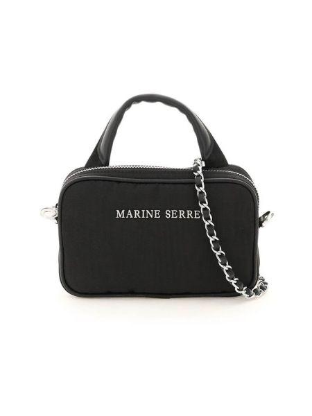 Czarna torebka Marine Serre