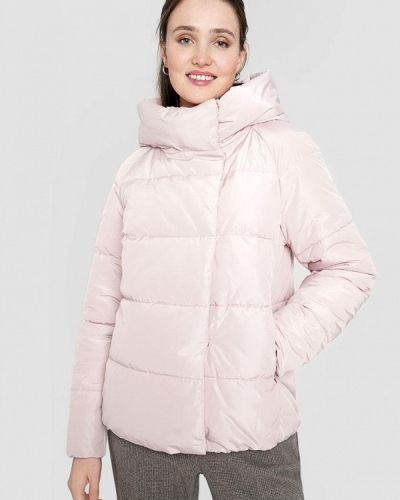 Теплая розовая зимняя куртка O'stin