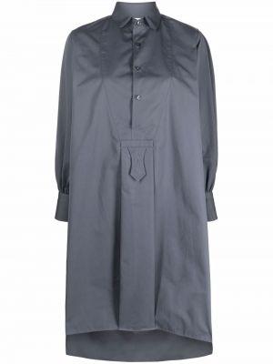 Платье миди с длинными рукавами - серое Maison Margiela