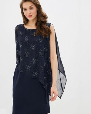 Синее вечернее платье Wallis