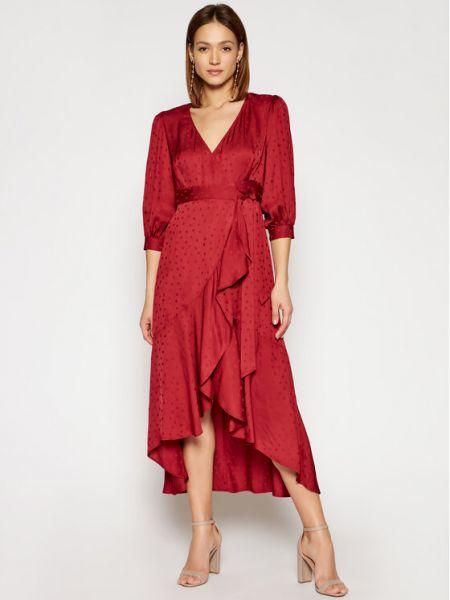 Sukienka casual - czerwona Max&co.