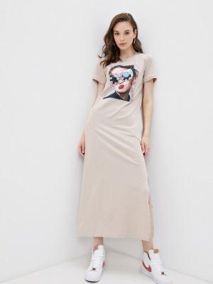 Бежевое платье Winzor