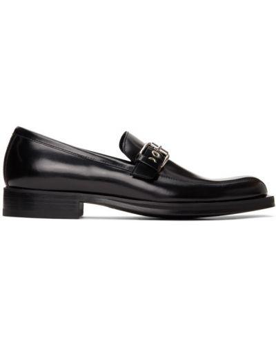 Loafers kwadratowy kaskada plac na pięcie Versace