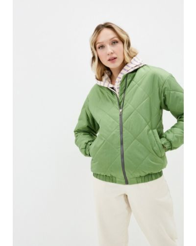 Утепленная куртка - зеленая Modress