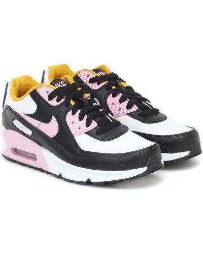 Skórzany sneakersy Nike Kids
