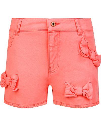 Розовые хлопковые шорты Billieblush