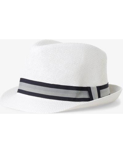 Biały kapelusz Finshley & Harding London