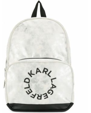 Серебряная сумка Karl Lagerfeld Kids