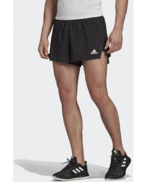 Короткие шорты для бега коричневый Adidas