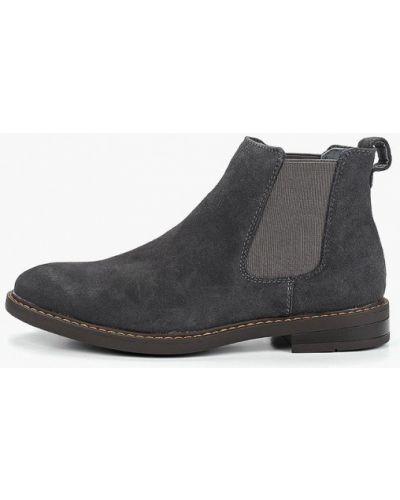 Ботинки челси осенние замшевые Gradella