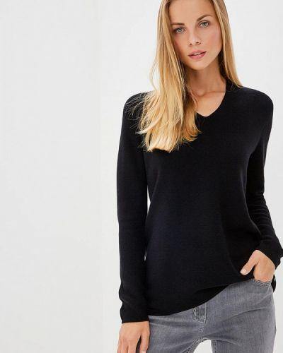 Черный пуловер 2018 Gerry Weber