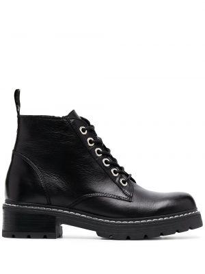 Buty mieszkanie czarne Carvela