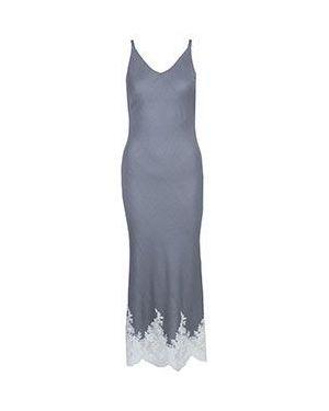 Вечернее платье серое деловое Via Torriani 88